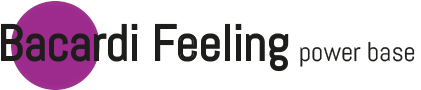 Bacardi Feeling power base 2020 Logo